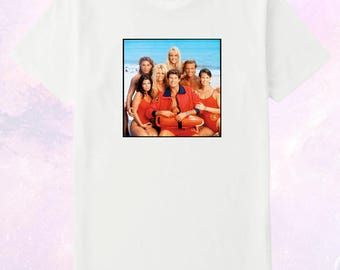 Baywatch TV show Cast - Original 1989 - 2001  Toddler / Youth / Adult Unisex Printed T Shirt