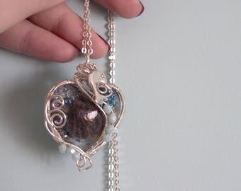 """Earrings """"The sea in the Heart"""""""