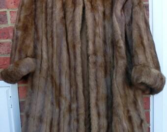 Beautiful Vintage Mink Fur Coat
