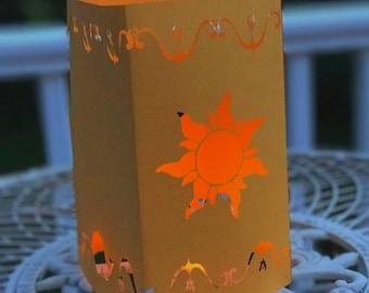 Tangled Lantern | Rapunzel Lantern | Large Tangled Paper Lantern