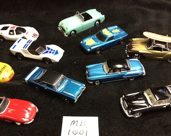 Collection of 10 Vintage Matchbox Sportscars