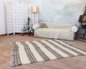 bedroom throw rugs. Scandinavian striped wool area rug for living room  bedroom handmade hand woven carpet throw