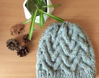 Handmade wool hat