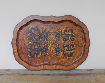 Wooden Decorative Platter