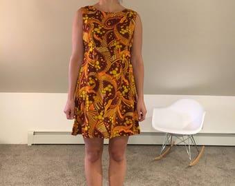 1960s Genuine Hawaiian Original Mini Dress