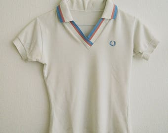 Cute Vintage Fred Perry Polo Shirt