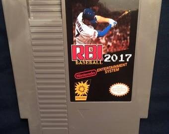 RBI Baseball 2017 NES GAME