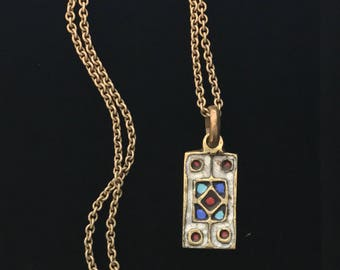 Pendant on Chain Necklace