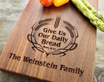 Personalized Cheese Board, Serving Board, Bread Board, Custom, Engraved, Wedding Gift, Housewarming Gift, Anniversary Gift, Engagement #23