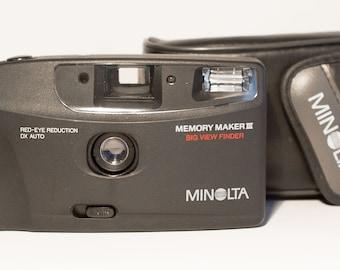 Minolta Memory Maker III - Point & Shoot - Film Camera