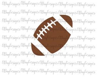 Football svg, football cut file, football monogram svg, football shirt svg, football decal svg, silhouette cut file, cricut cut file, sport