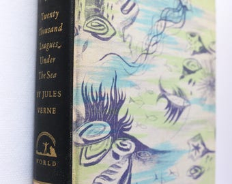 Twenty Thousand Leagues Under The Sea by Jules Verne Illustrated by Kurt Wiese Rainbow Classics World Publishing Company 1946
