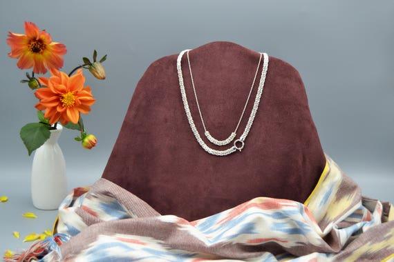 Byzantine Necklace | 925 Sterling Silver | Layered Set | Everyday Necklace | Minimal Necklace | Boho Jewelry