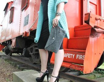 Crochet Pattern for Charleston Felted Clutch Crochet Fulled purse pattern
