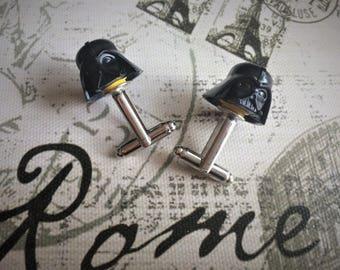 LEGO Star Wars cufflinks - Darth Vader cufflinks - wedding cufflinks - groomsmen gift - Cufflinks for groom - Best man gift.