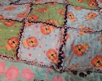 Ragged Baby Blanket