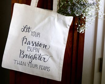 Motivational Bright Star Tote