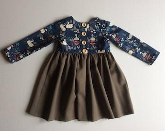 Long sleeve tea party dress size 3