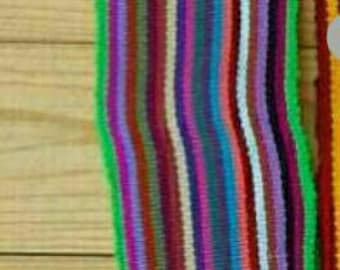 Mexican Hand Woven Belts/Colorful belts/adjustable/ONE SIZE/