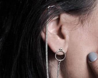 Silver Earrings, Drop Earrings, Bohemian Earrings, Boho Jewelry, Silver Earrings Dangle, Earrings Jewelry, Brass Earrings, Long Earrings