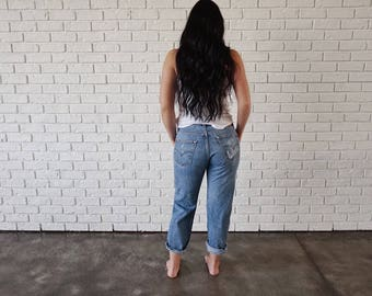 Levis 501 Custom Distressed Jeans (34)