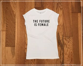 The future is female Adults T-shirt