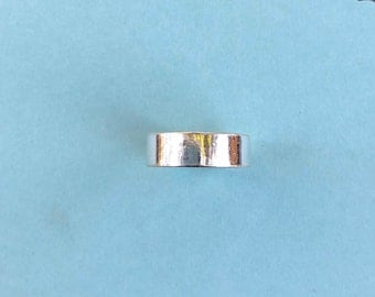 Sterling silver stampable ring