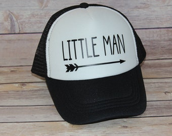 Little Man Toddler Trucker Hat