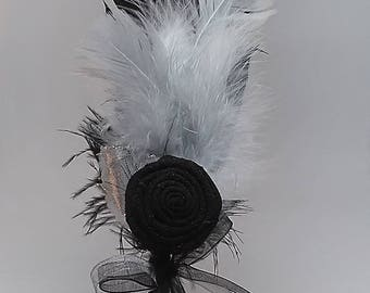 Feather Hair Decor - Large