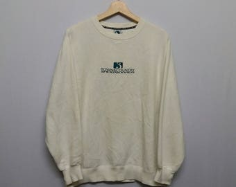 Vintage Town & Country Surf Sweatshirt Size L Distressed