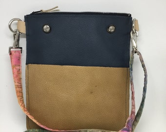Crossbody leather bag/mini iPad cover/kindle cover/crossbody bag/passport holder/tablet and reader case