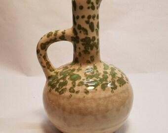 VTG Mohawk Liqueur Bottle Stoneware Liquor Jug Decanter R-4 Pitcher Vase