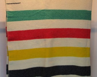 1960s Hudson Bay Blanket *4 Point*