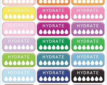 Hydrate Trackers (11 Color Options)