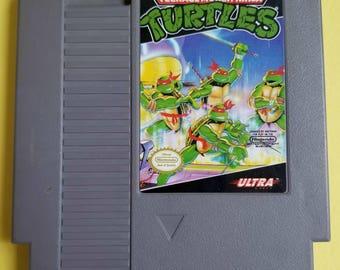Teenage Mutant Ninja Turtles NES Game - TMNT 1989 Nintendo