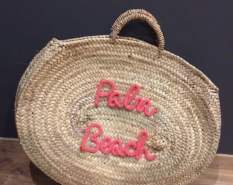 Customize round basket