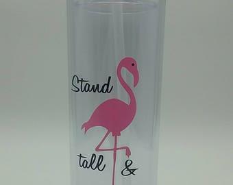 Flamingo Skinny Tumbler