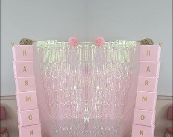 Minnie Mouse pink and gold theme baby shower or birthday