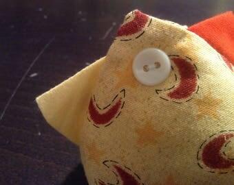 Alfileto Chicken/Handmade/Chicken Patchwork Pincushion