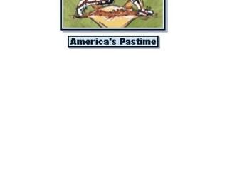 Baseball Cross Stitch Chart