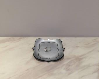 Quatrefoil Trinket Dish