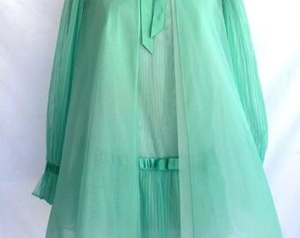 Mint Green Vanity Fair Lingerie Set
