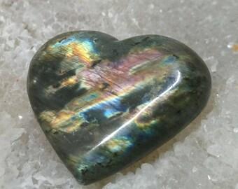 Labradorite Rainbow 18,37 Gr-heart