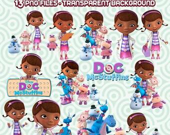 Doc Macstuffins Clipart, Macstuffins PNG, Doc Macstuffins Cartoons, Disney Junior, High Resolution,  Instant Download  62