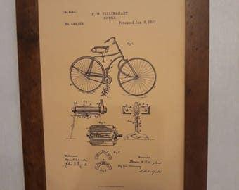 Vintage Bicycle Print Gift