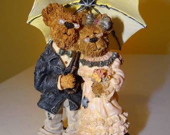 Boyds Bears, Bearstone Collection, Style #227741 Harry & Millie...through the Years