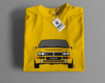 T-shirt Lancia Delta HF Integrale Evoluzione | Gent, Lady and Kids | all the sizes | worldwide shipments | Car Auto Voiture