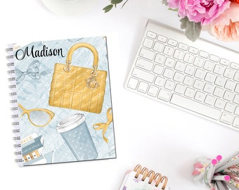 Girl About Fashion Planner Cover Erin Condren Life Planner Recollections A5 B6 Personal Pocket Dashboard Happy Planner