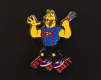 Phish Pin Gamehendge Sloth Goonies Baby Ruth Lapel Pin