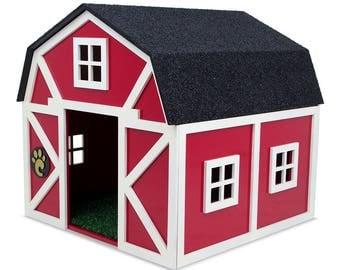 Luxury Dog House - Barn
